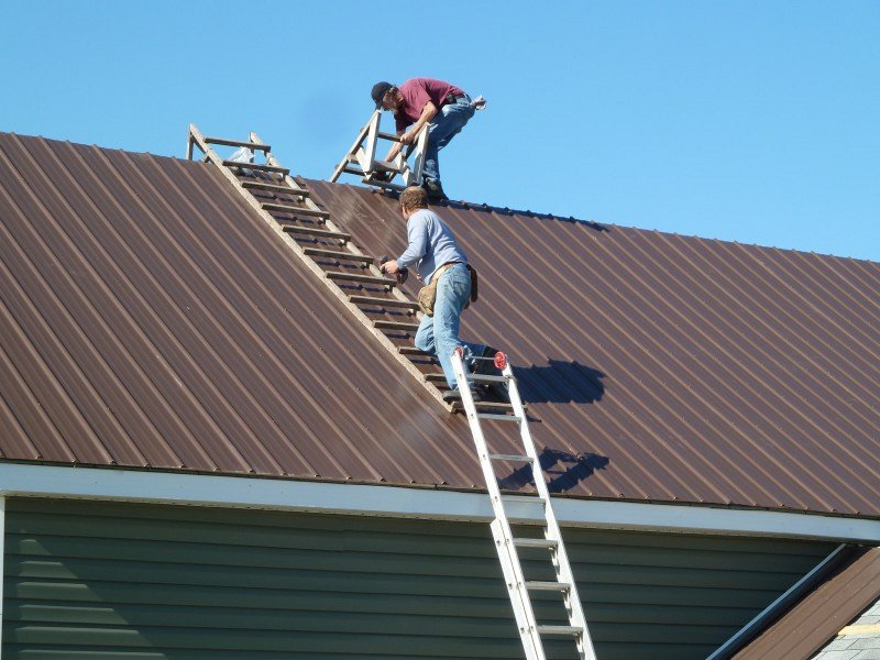 Metal Roofing And Trims Superior Seamless Installation