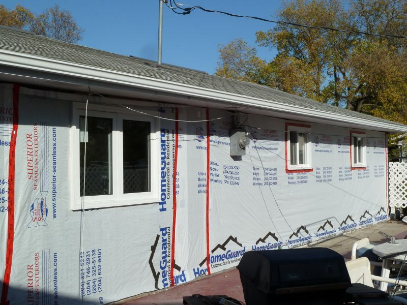 Rear View Ready For New Siding